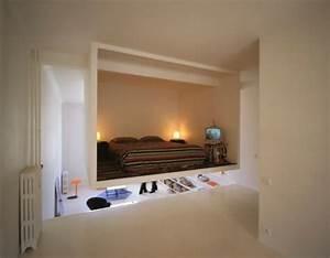 Fernseher An Die Wand : fernseher an der wand im schlafzimmer ~ Bigdaddyawards.com Haus und Dekorationen