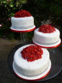 HD wallpapers red ribbon wedding cake designs