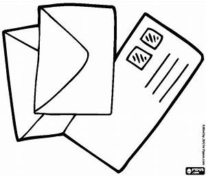 Envelope Coloring Page - GetColoringPages.com