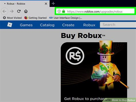 buy robux  steps  pictures wikihow