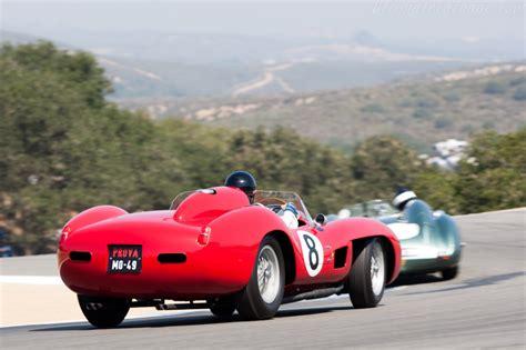 It's a legendary rivalry on the field: 1957 Ferrari 335 Sport Spyder Scaglietti #0764M - 2009 Monterey Historic Automobile Races ...