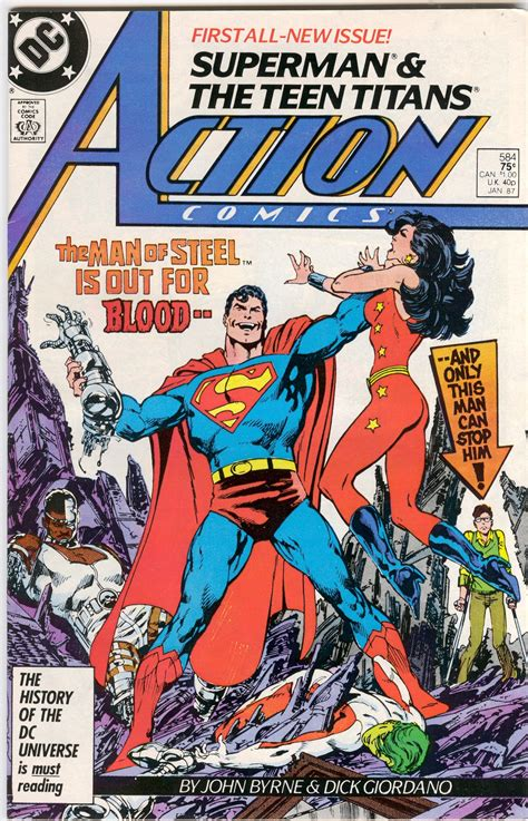 crazy comic cover action comics 598 quot squatter quot comic