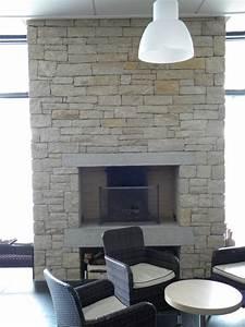 habillage mur et conduit cheminee en pierre naturelle With salle de bain design avec facade de cheminée décorative