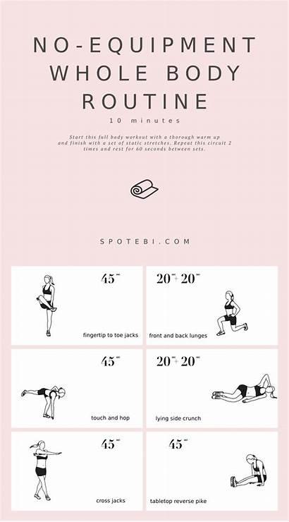 Equipment Routine Whole Workouts Workout Fat Spotebi