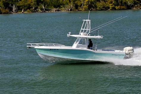 Deck Boat In Ocean by 31 Foot Center Console Fishing Boat By Ocean Master