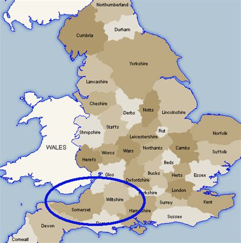 map  southern england counties  travel information