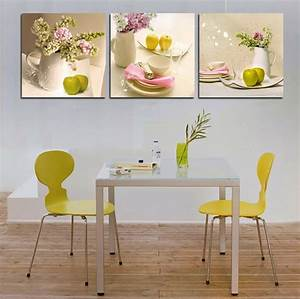 Tableau Pour Cuisine : cuisine la d coration printani re inspir e par les fleurs design feria ~ Teatrodelosmanantiales.com Idées de Décoration