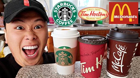Before this blood test, you may be asked to stop eating or drinking for a few hours before. FAST FOOD COFFEE TASTE TEST!!! - YouTube