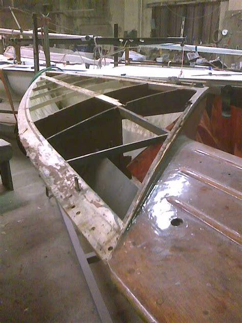 wooden boat refurbishment flying  painting repairs