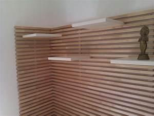 Wood, Slat, Wall, Ideas