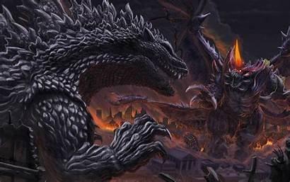 Godzilla Wallpapers Horror Dinosaur Monster Sci Fi