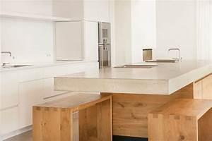 Küche Eiche Modern : k che beton eiche w modern k che other metro von wiedemann werkst tten ~ Eleganceandgraceweddings.com Haus und Dekorationen