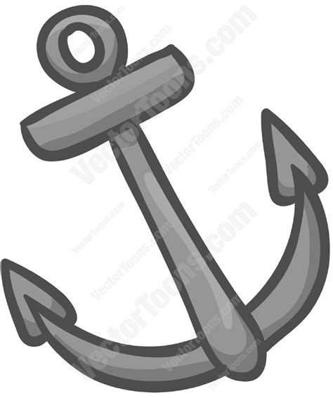 Anchor On A Boat by Boat Anchor Stock Graphics Vector