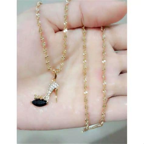 jual aksesoris set perhiasan wanita remaja termurah dan terlaris kalung anting gelang xuping di