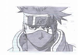 Kakashi Hatake sketch by Narocku531 on DeviantArt
