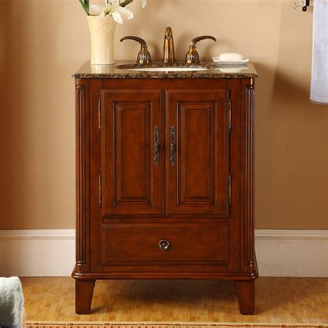 Sink Bathroom Vanity by 28 Inch Single Sink Bathroom Vanity With Granite Counter