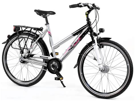 26 zoll fahrrad mifa alu trekking fahrrad 26 zoll damen lidl deutschland