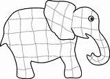 Elmer Coloring Elephant Printable Elmar Elephants Template Elefant Clip Teachingideas Ausmalbild Activities Craft Templates Lesson Children Instructions Partager Library Clipart sketch template