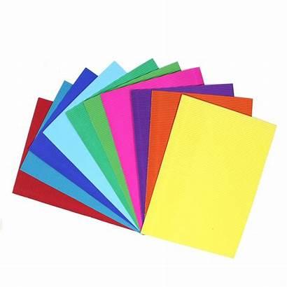 Paper A4 Coloured Corrugated Pack Craft Cardboard