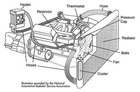 Basic Car Parts Diagram Some Engines The Warm Coolant