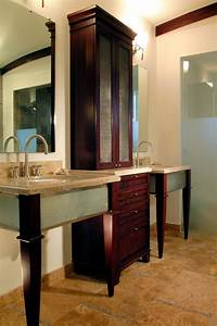 18 savvy bathroom vanity storage ideas bathroom ideas for Bathroom vanities with storage towers