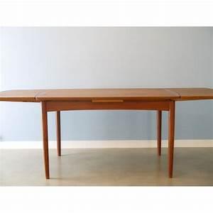 Table à Manger Scandinave Extensible : table manger extensible design scandinave la maison retro ~ Teatrodelosmanantiales.com Idées de Décoration