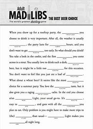 Best Mad Libs Ideas And Images On Bing Find What You Ll Love
