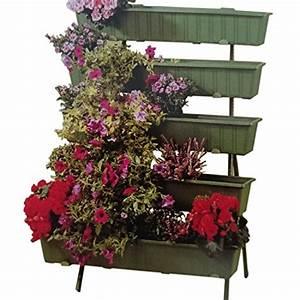 blumentreppe mit 5 stufen 120cm hoch test With französischer balkon mit gartenzaun 120 cm hoch