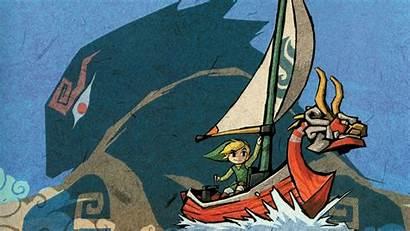 Waker Wind Wallpapers Zelda Windwaker Legend Cool