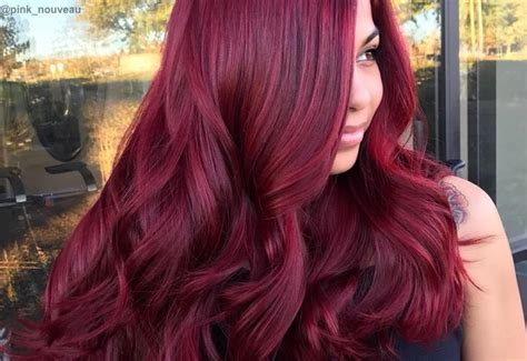 red hair color shade ideas trending