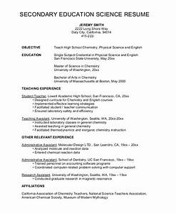 sample high school resume 8 examples in word pdf With sample resume of a teacher in high school