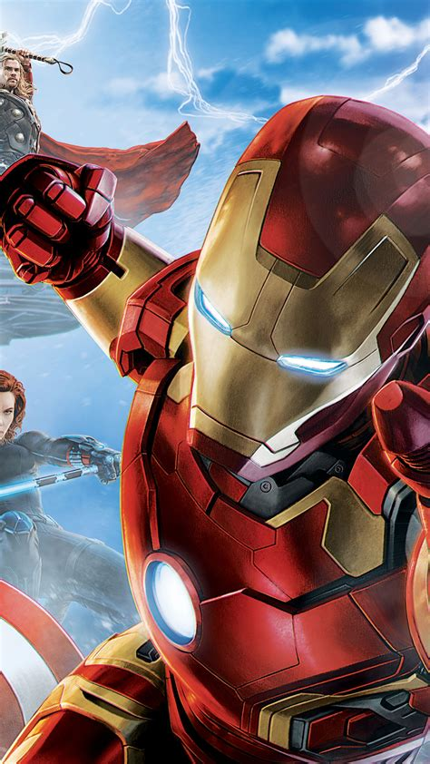 wallpaper avengers age  ultron iron man captain