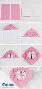 Origami Für Anfänger : origami herz aus papier falten anleitung origami herz ~ A.2002-acura-tl-radio.info Haus und Dekorationen