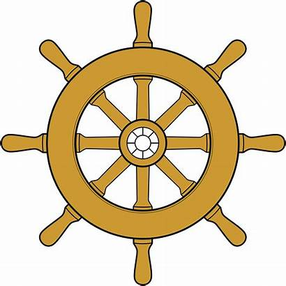 Wheel Steering Boat Ship Wheels Svg