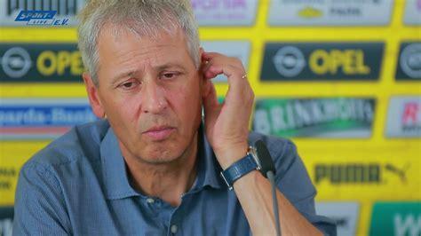 Hannover 96  Borussia Dortmund Pk Mit Lucien Favre Und