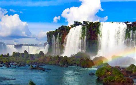 waterfall wallpaper high quality wallpaperwiki