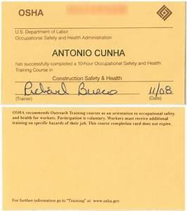 osha 10 hour card photo by oisanteria photobucket With osha 10 card template