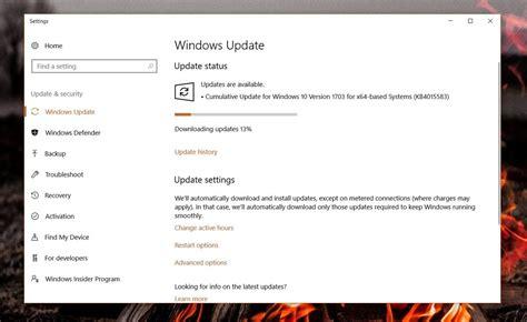 microsoft rolls out windows 10 cumulative updates for anniversary and creators update users
