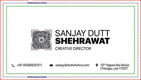 director business card psd template freedownloadpsdcom