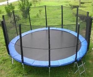 Trampolin Für Den Garten : trampolin xxl 4 80 m 16ft gartentrampolin netz in ~ Michelbontemps.com Haus und Dekorationen