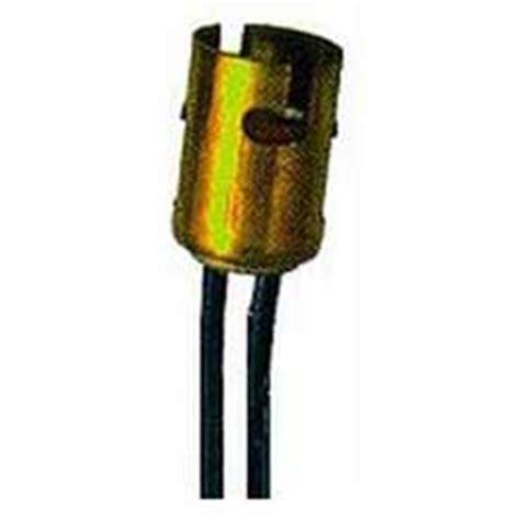 double bulb l socket perko double contact bayonet bulb socket 6 quot leads west