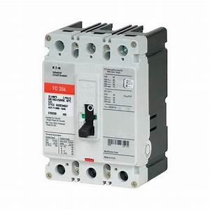 Eaton Fd3100 Panel Mount Type Fd Molded Case Circuit Breaker 3