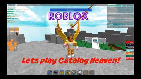 roblox lets play catalog heaven youtube