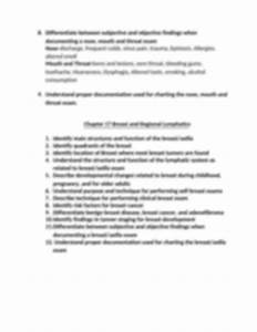 Health Assessment Study Guide Docx