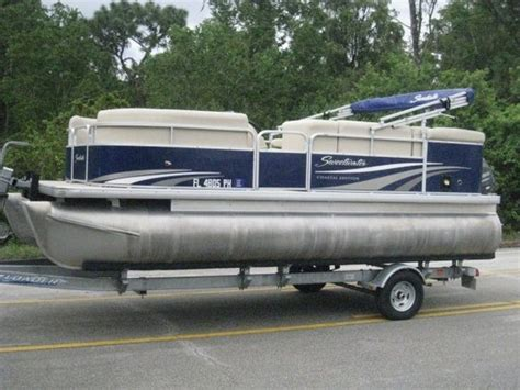 Boat Trader Sweetwater Pontoon by Sweetwater 20 Cruise Pontoon Motor Boat For Sale In