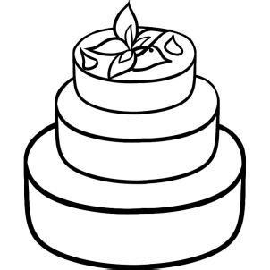 How To Draw How To Draw A Wedding Cake Hellokidscom