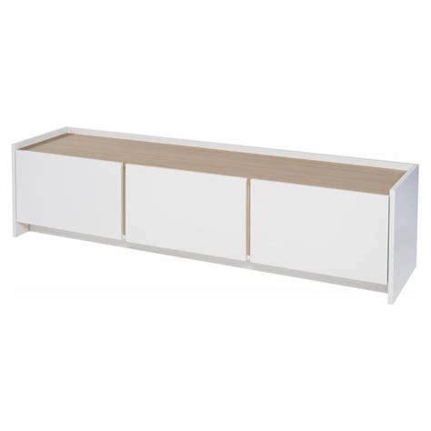 Low Oak Sideboard by Buy White Oak Laminated Low Media Sideboard From Fusion