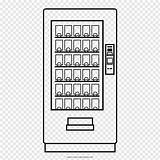 Vending Colorare Distributore Dibujo Expendedora Pngwave Ultracoloringpages sketch template