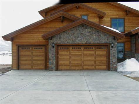 Wood Garage Door by New Door Sales Installation A Plus Garage Doors