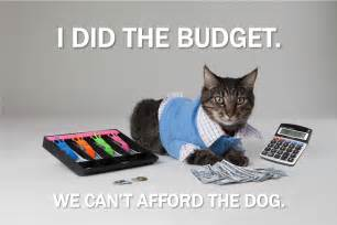 cat work cat current event cat of the day rival budget plans